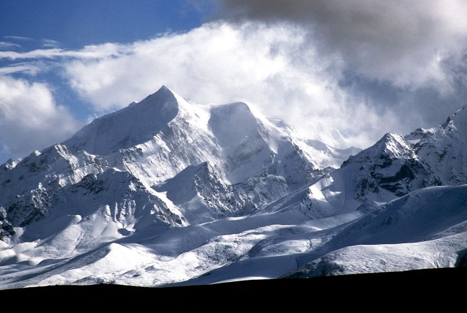 Dhaulagari 6,838m in Western Nepal on the border of Nepal, China and India