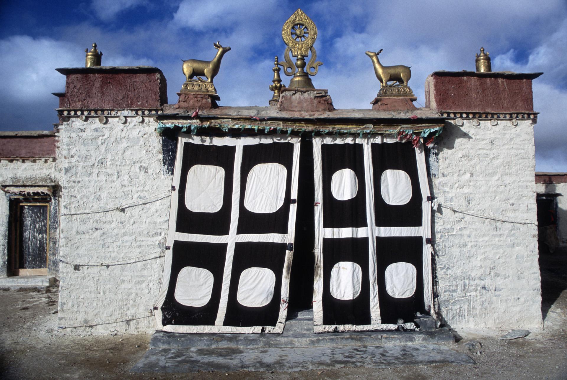 Chiu Gompa - the main gate