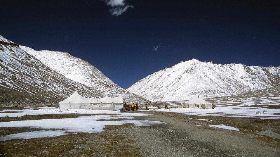 A tea house on the Kora of Mt. Kailash.