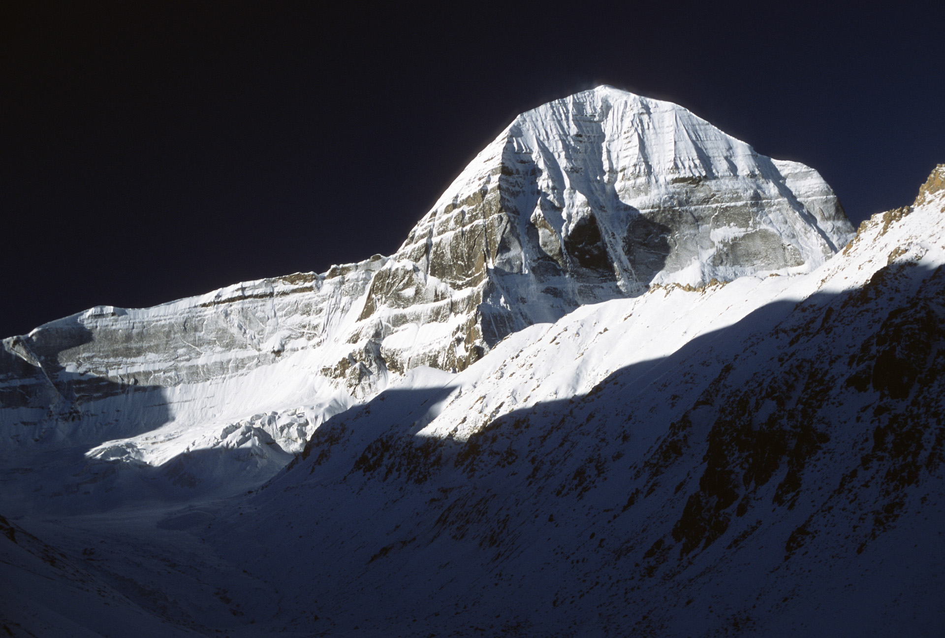 Mt. Kailash - north east face