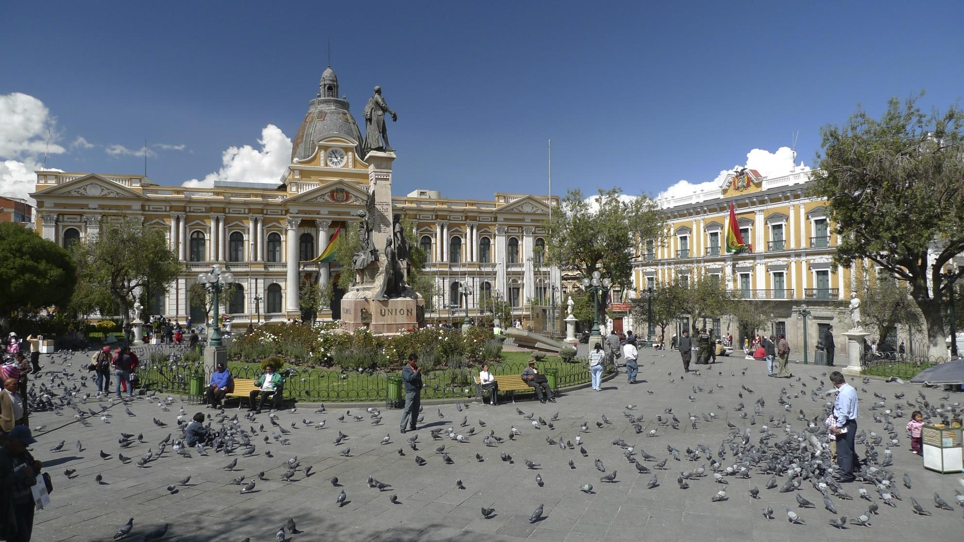 The Historical centre of La PAz