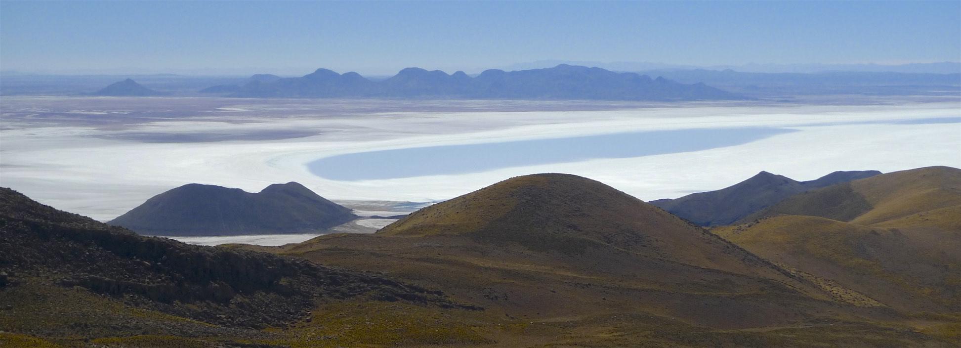 on Cerro Tunupa 5,321m
