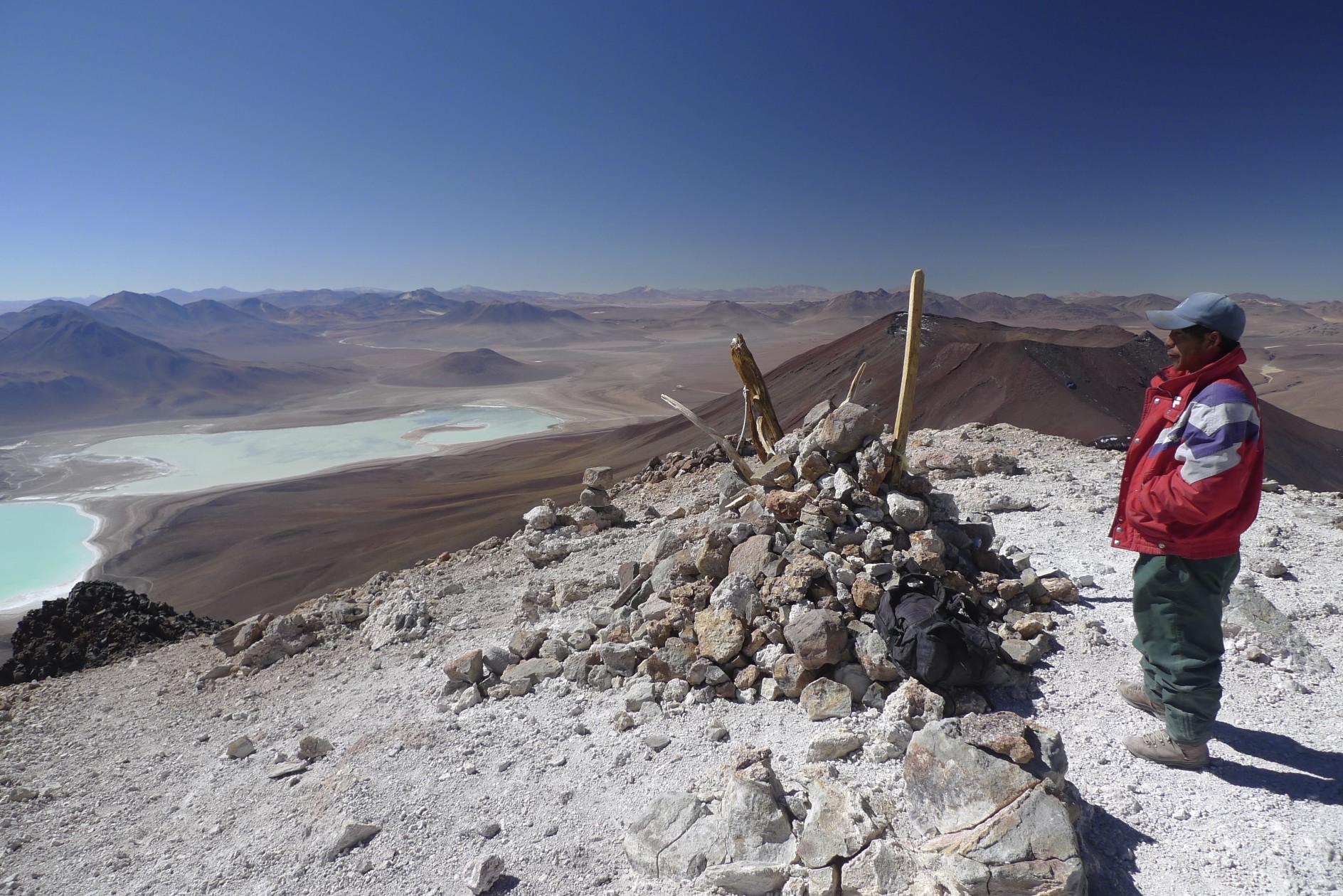 Licancabur summit 5,920m