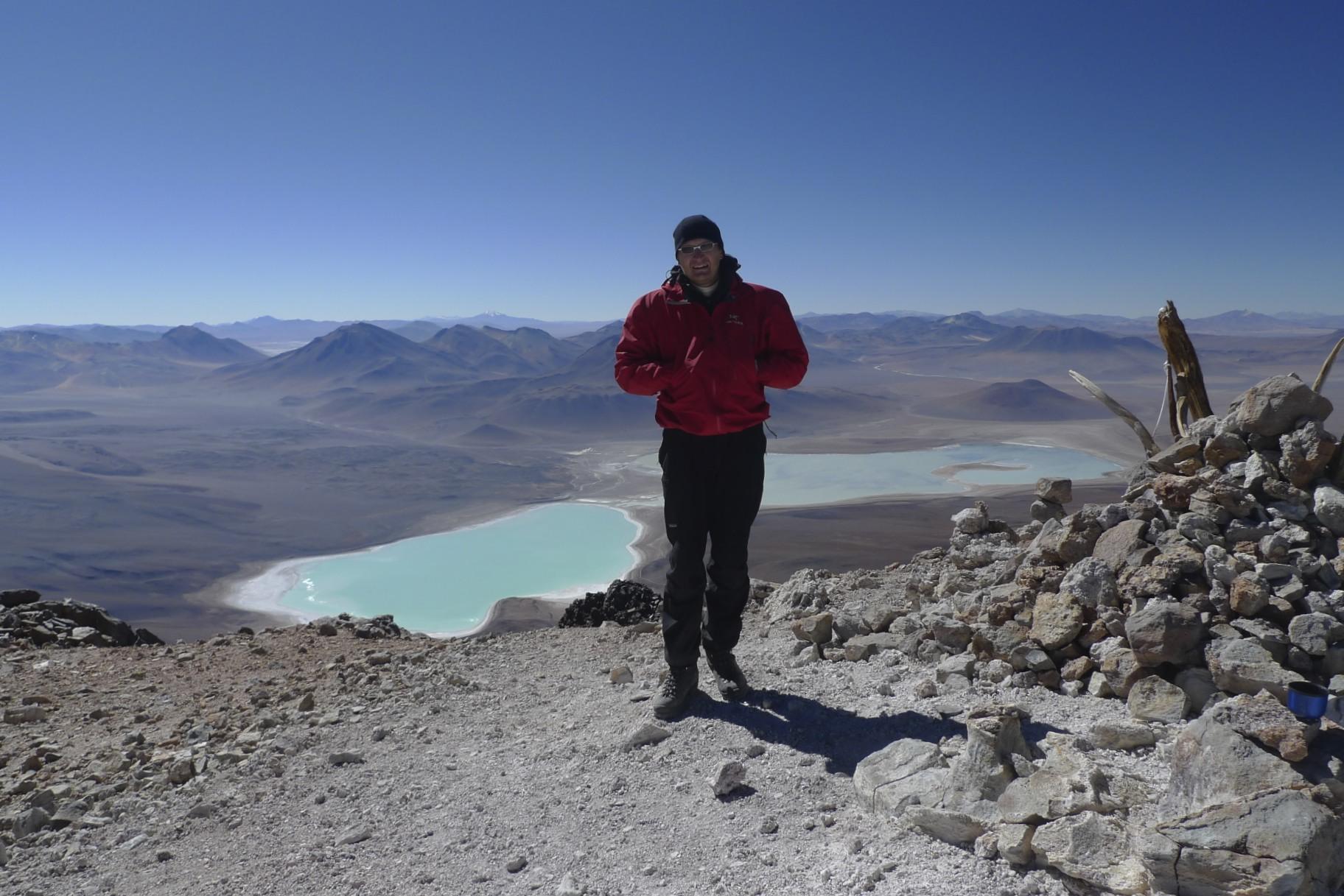 The summit of the Licancabur 5,920m
