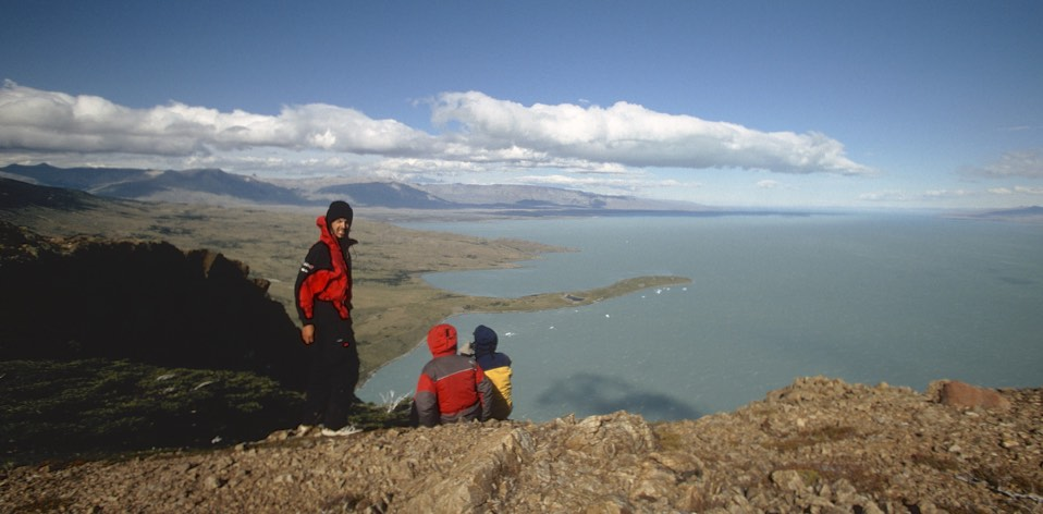 Lago Viedma - looking for condors