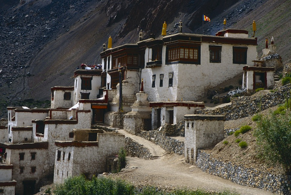 Lingshed Monastery 3,882m