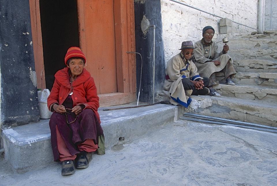 In Lamayuru Monastery