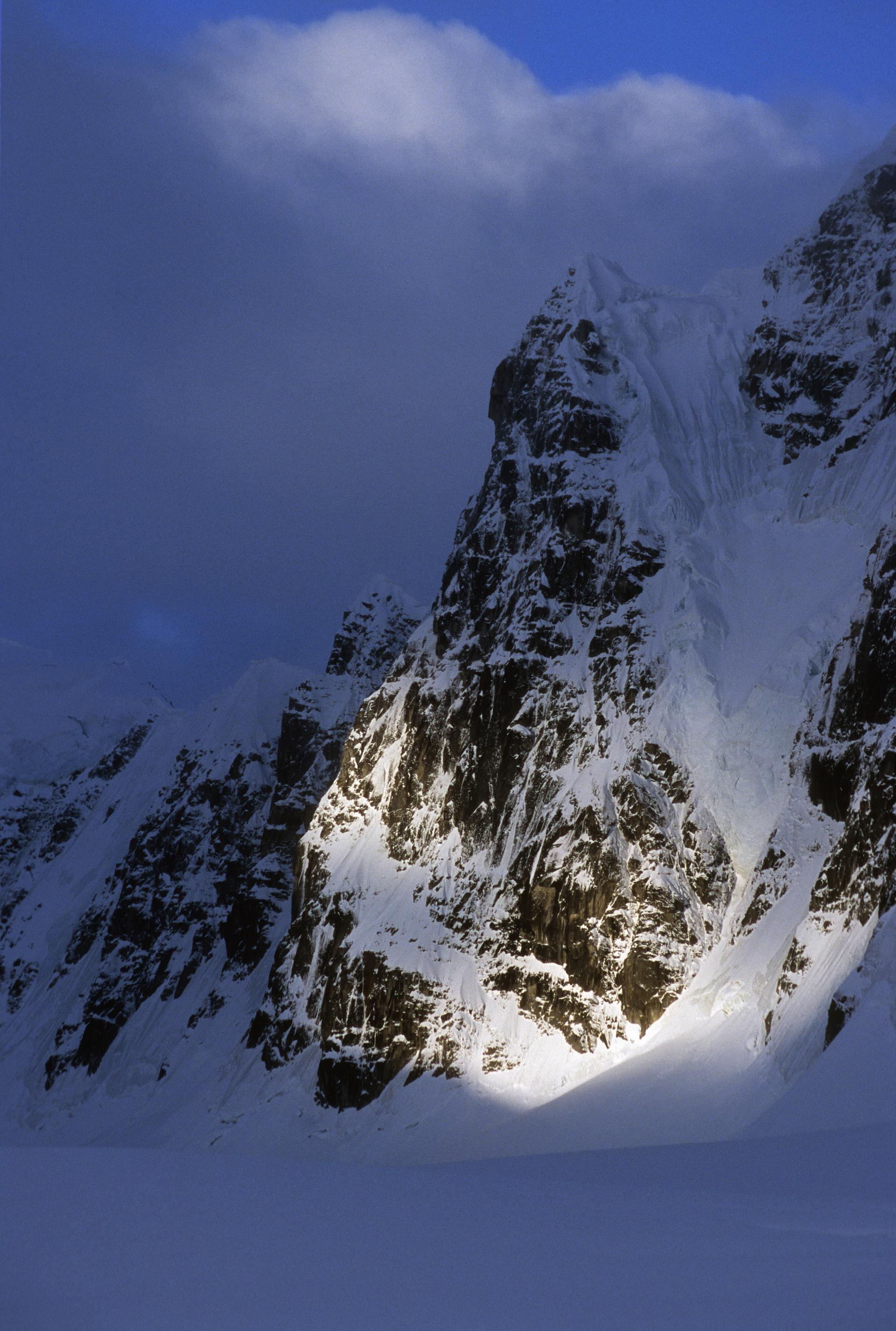 Mt, Hunter north pillar