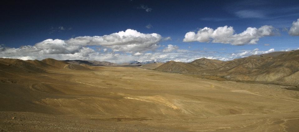 North of Shishapangma
