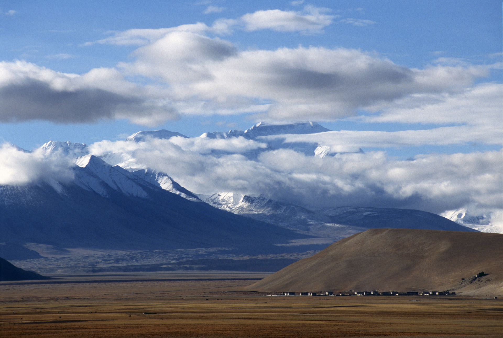 Mt. Everest from Tibet