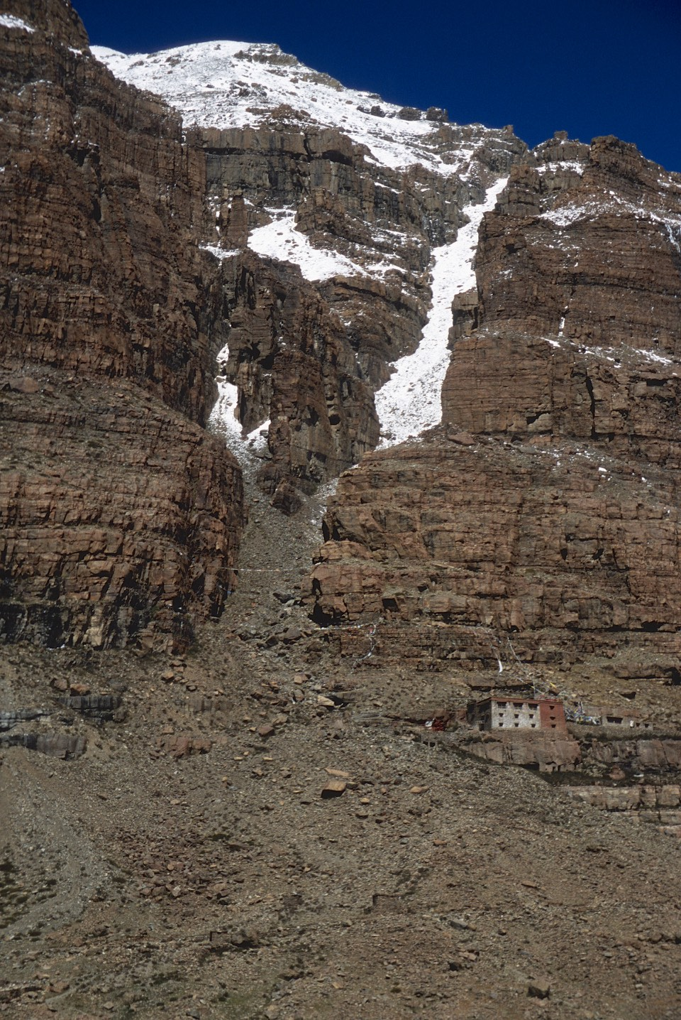 One of a few monasteries dotting Mt. Kailash.