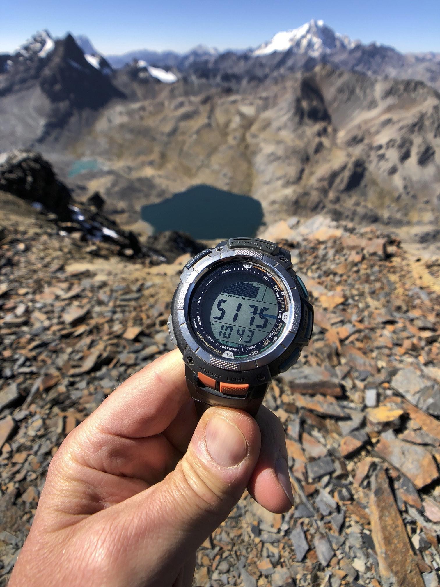 The top pf Pico Austria