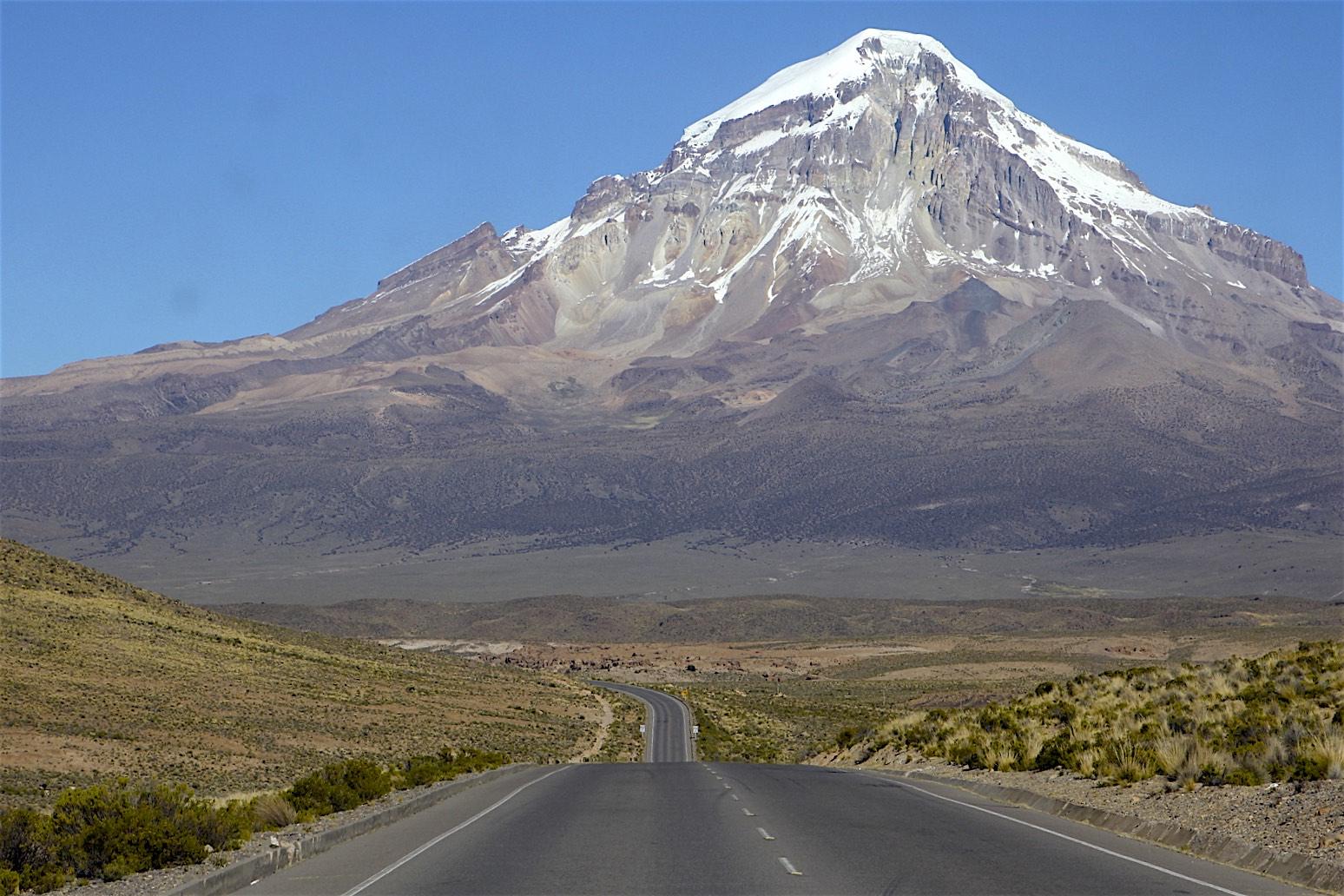 Volcan Sajama 6,520m