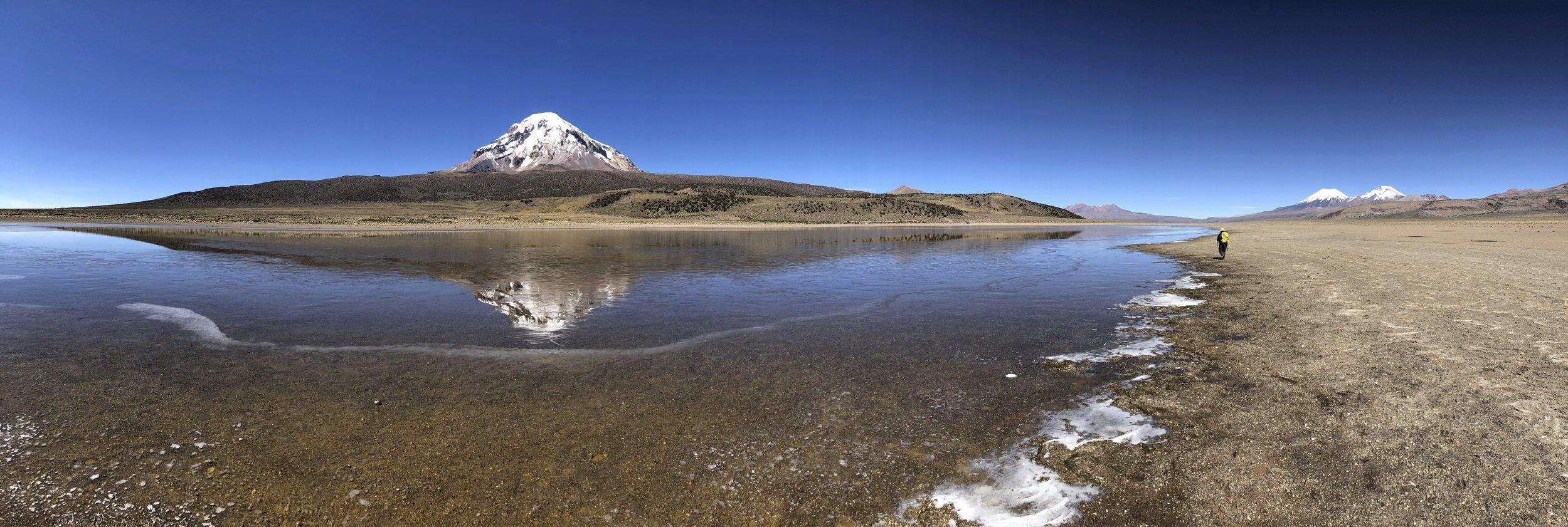 Sajama - the highest peak in Bolivia