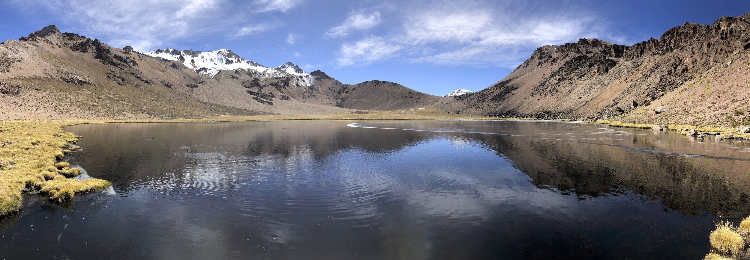 Laguna Atla in Lauca National Park in Chile