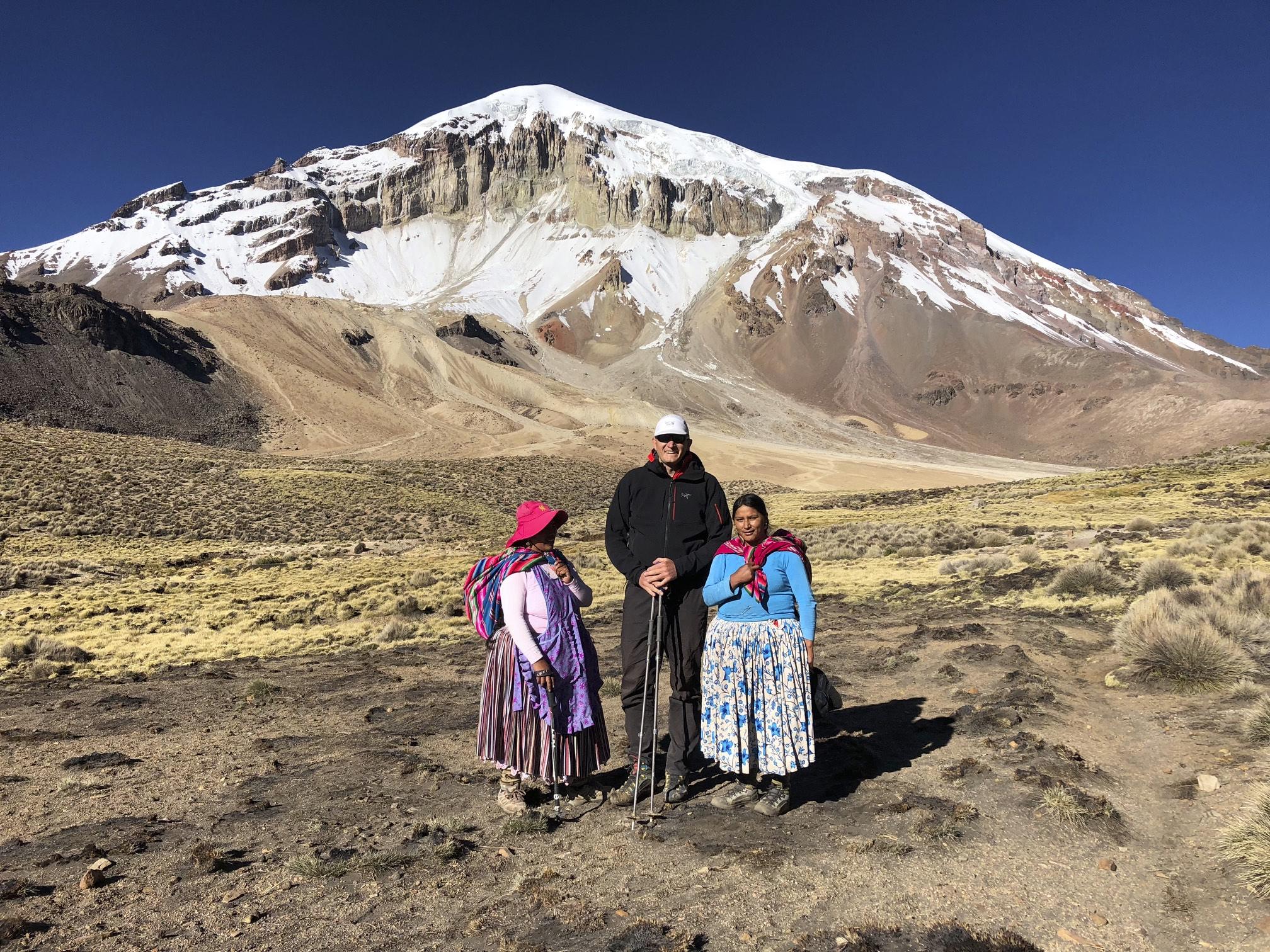 Cholitas Escaladoras - Bolivian women mountaineers