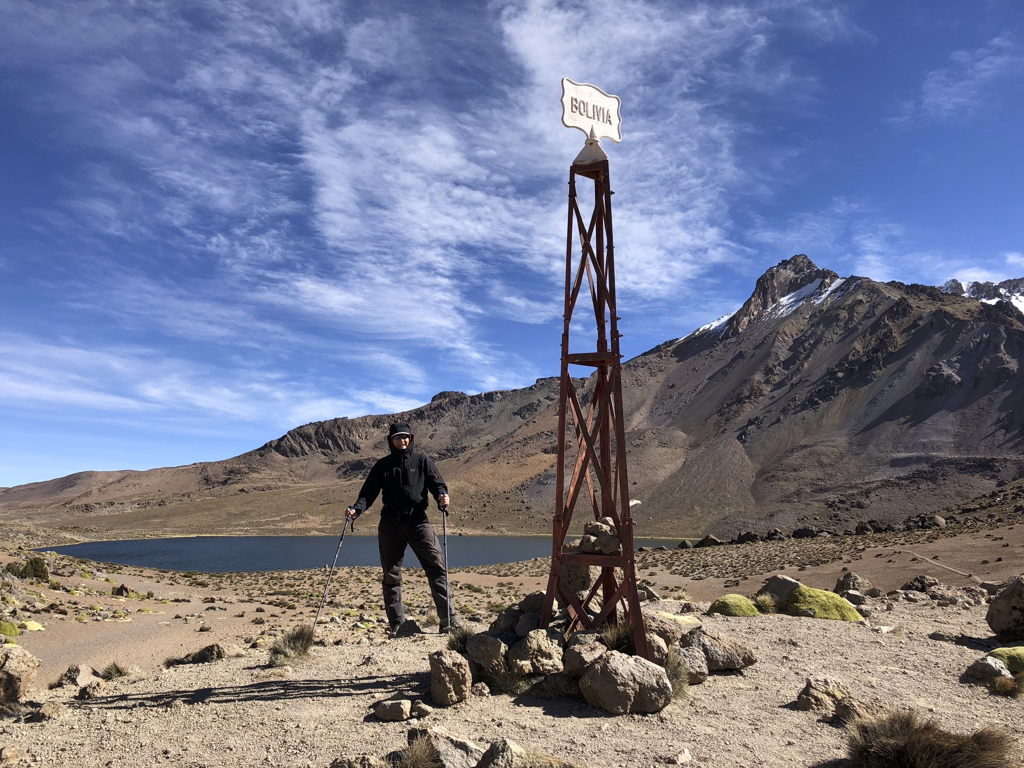 On the border of Chile and Bolivia - exploring the Sajama NP