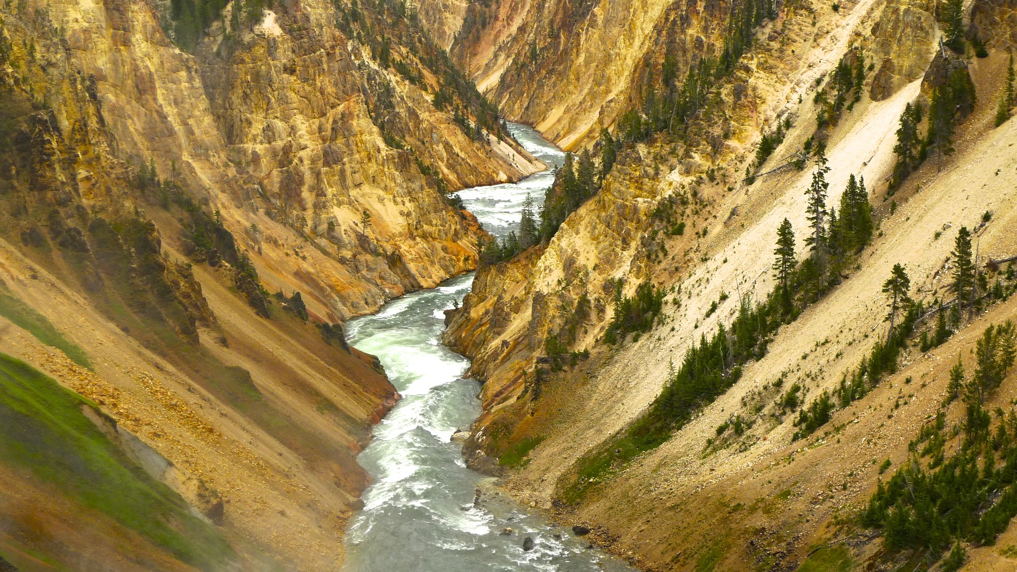 The Canyon of Yellowstone