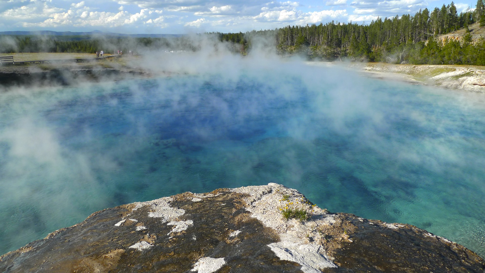 Great Prismatic Spring area