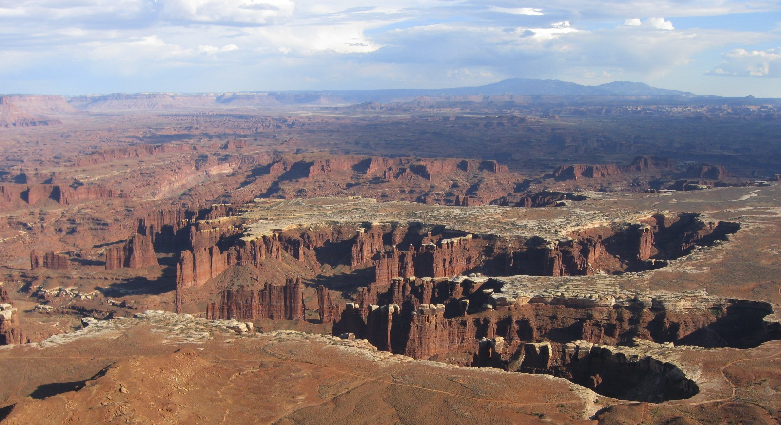 The Fingers from the road to the Dead Horse Canyon near Moab, Utah
