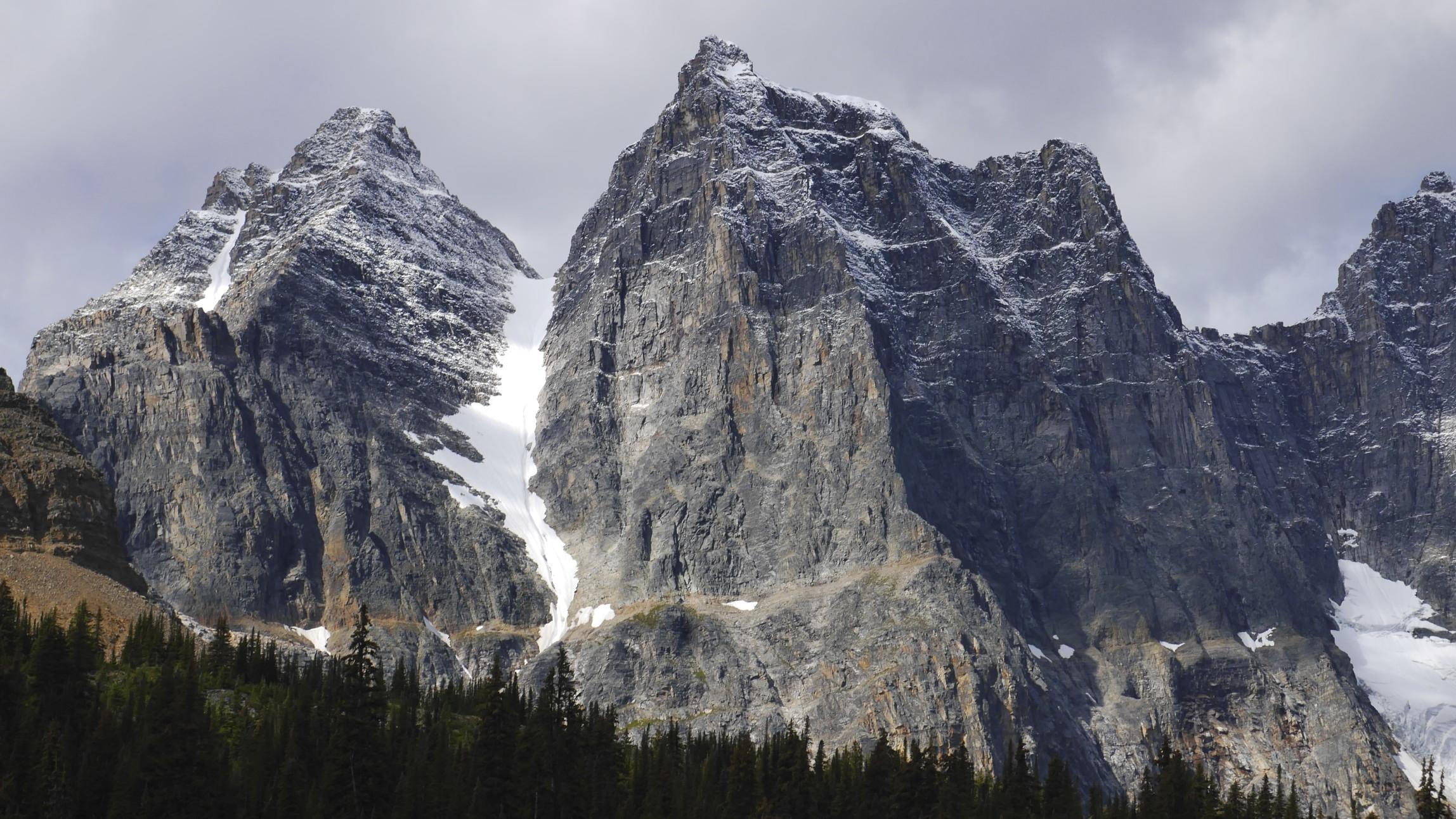 Parapet Peak and Radoubt Peak