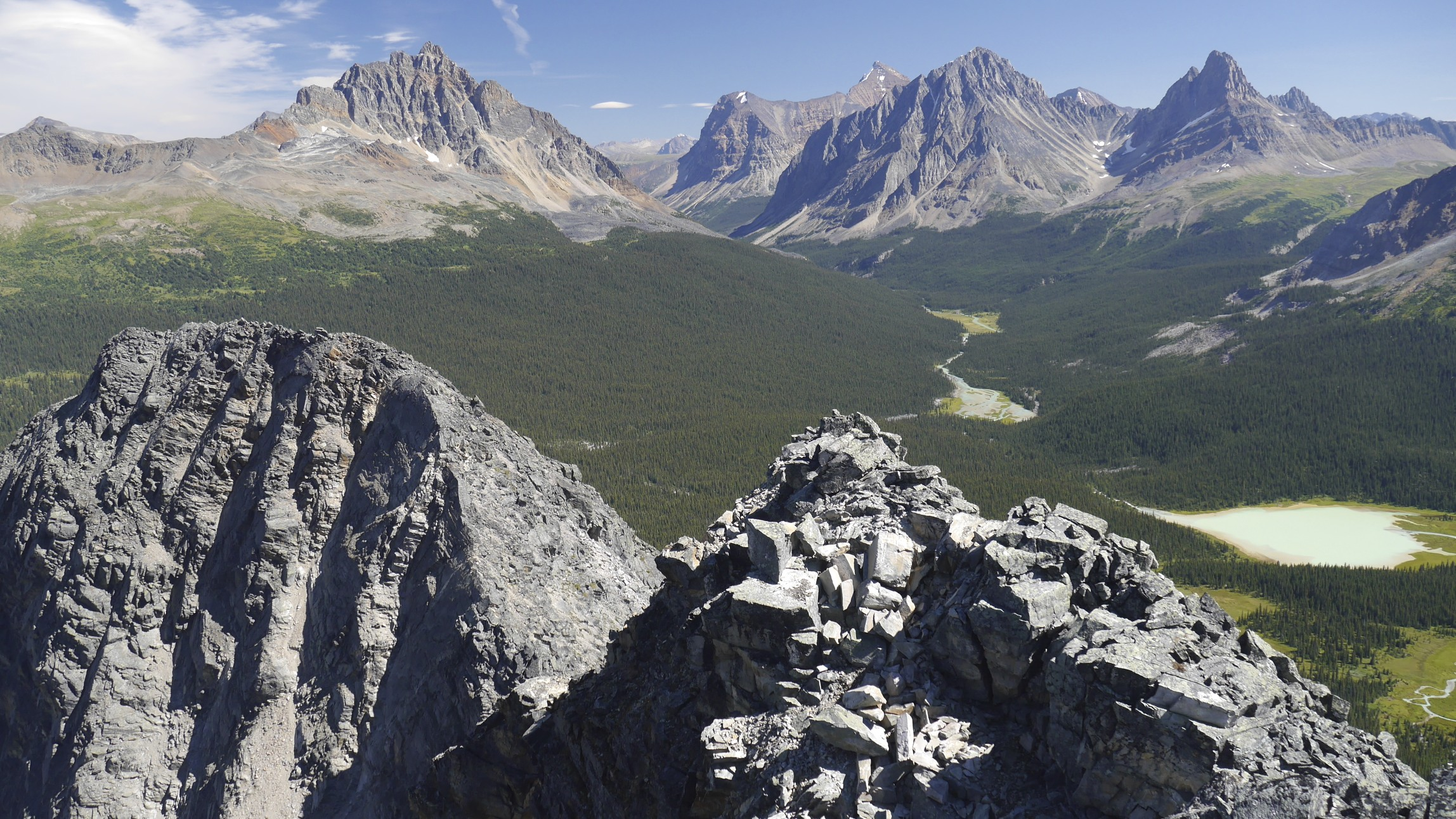 The Tonquin Valley and the Chrome Lake