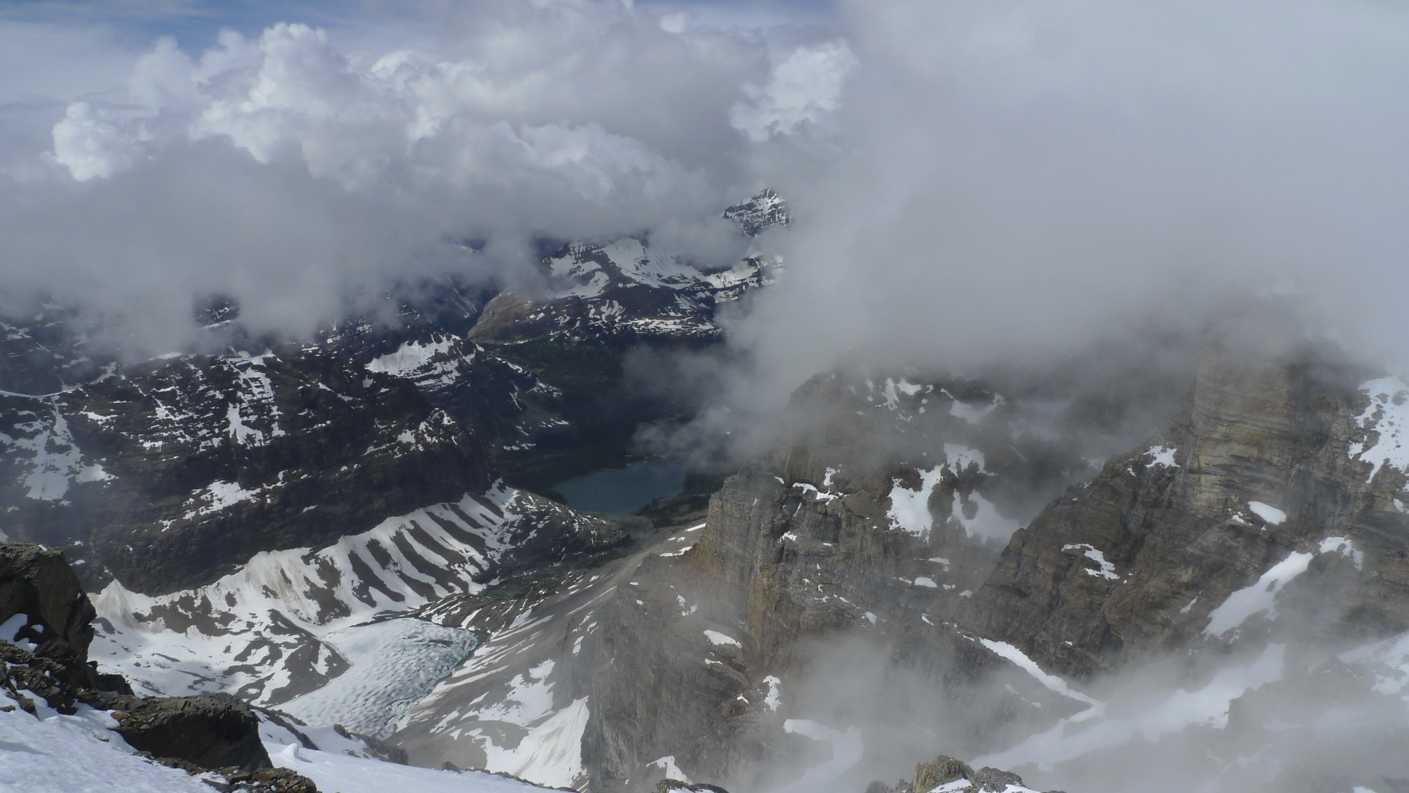 Lake Ohara from Mt. Lefroy