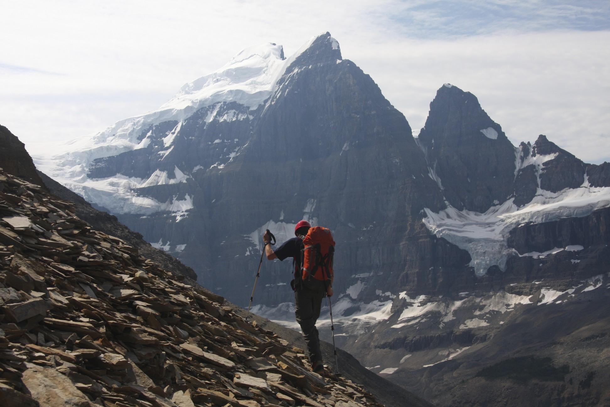 Ascending Mt. Little Alberta