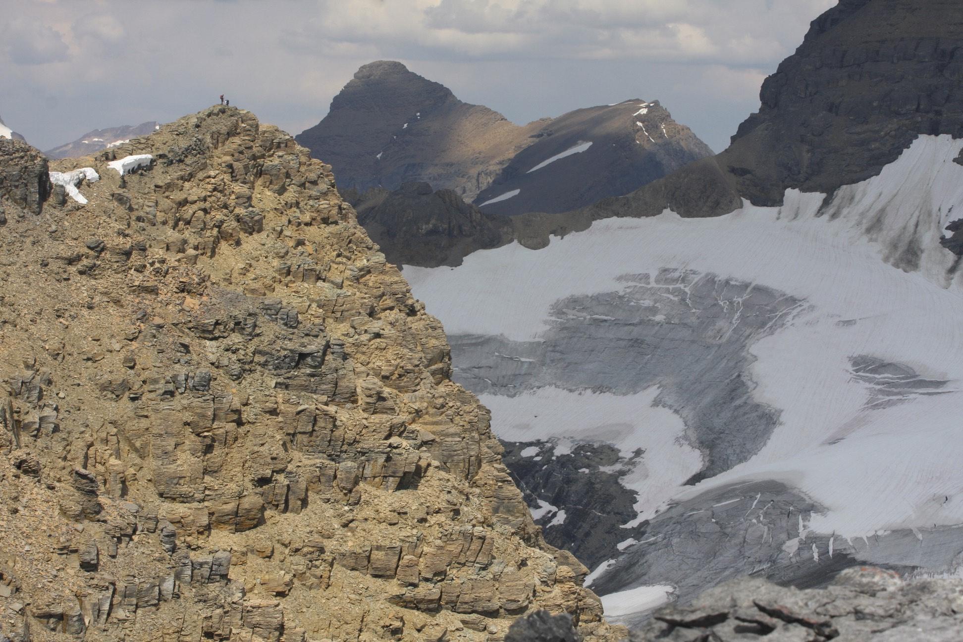 The summit of Little Alberta