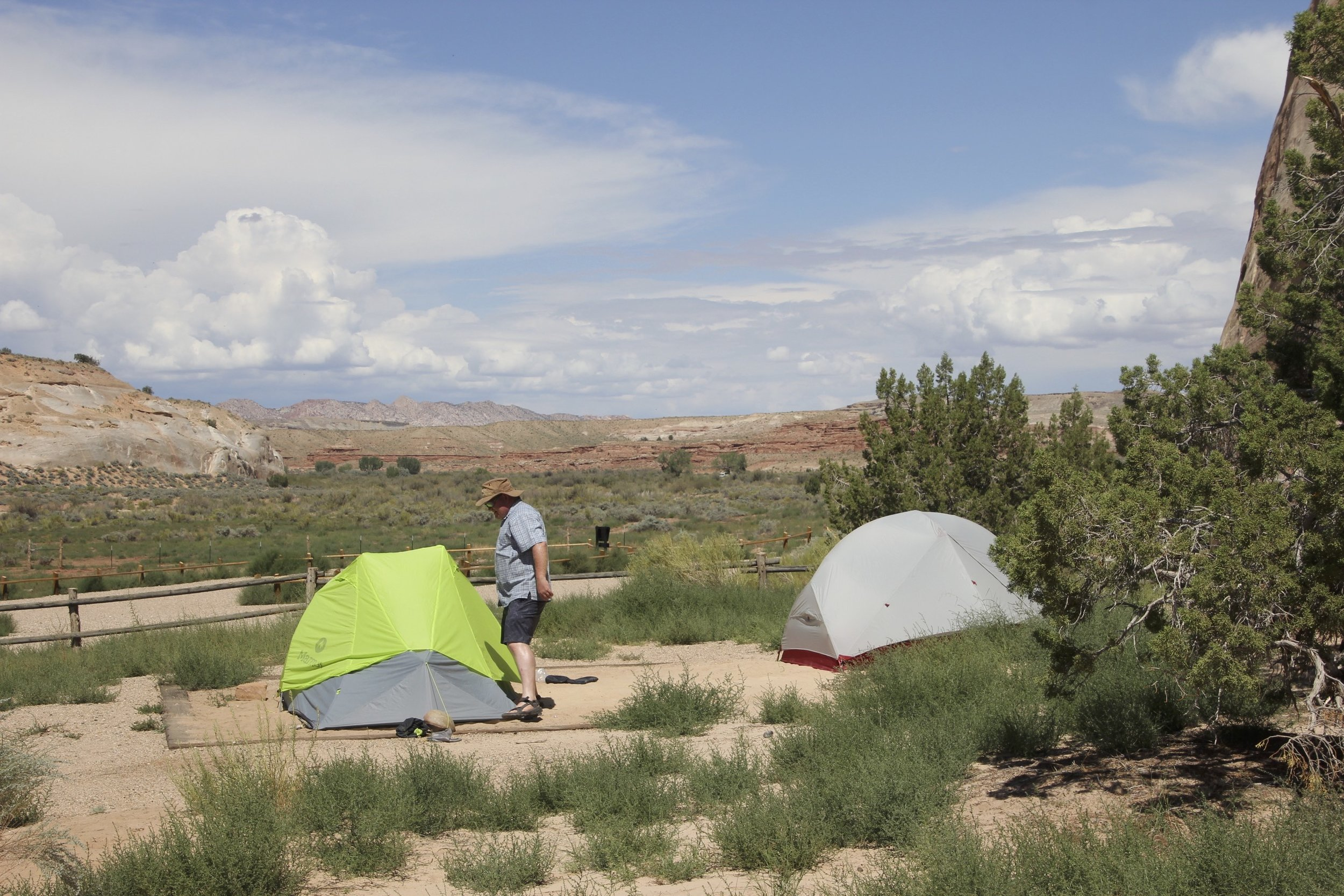 The Whitehouse campsite run by the BLM