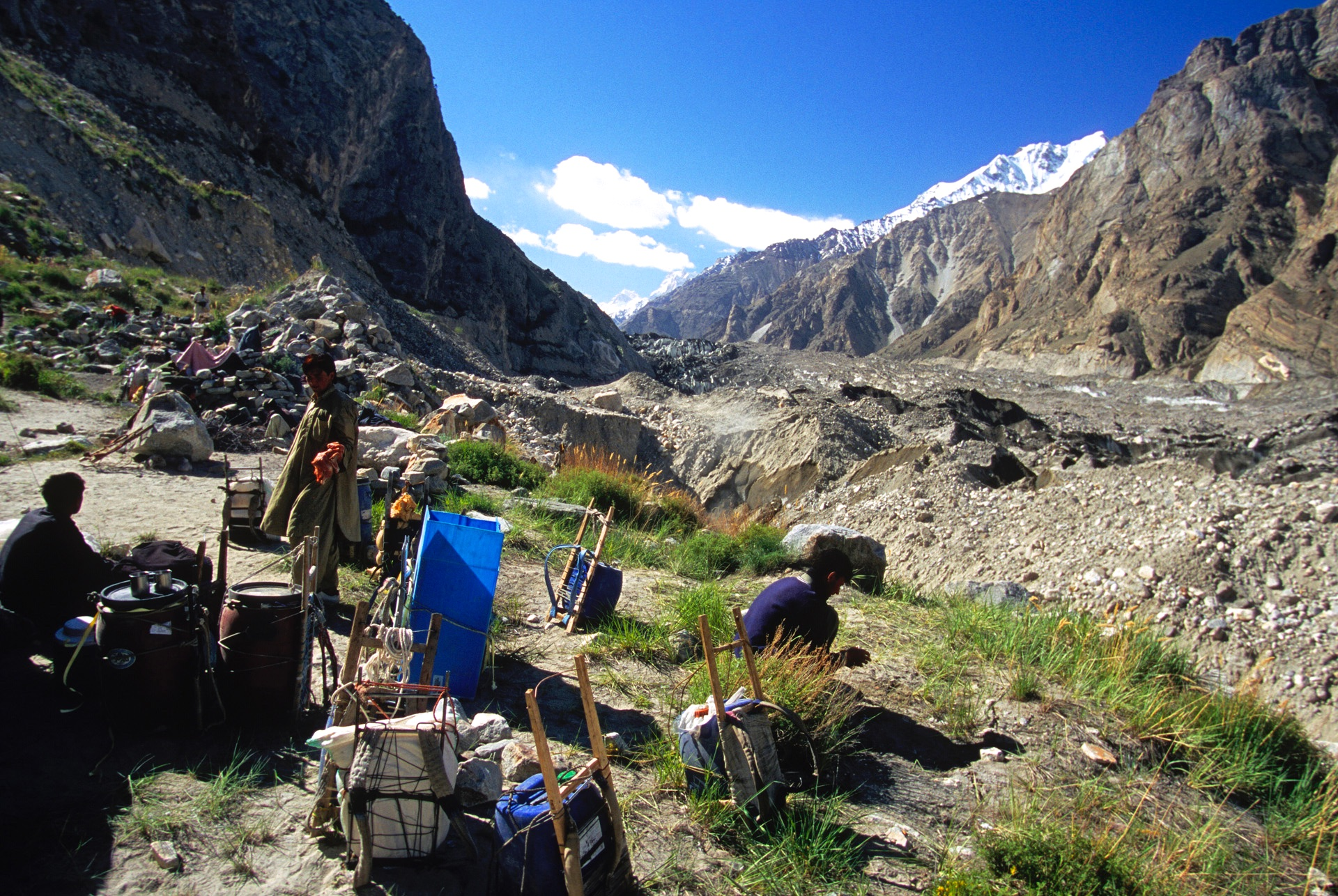 Dai 1. This was our lunch spot. After lunch we descended to the Biafo Glacier.