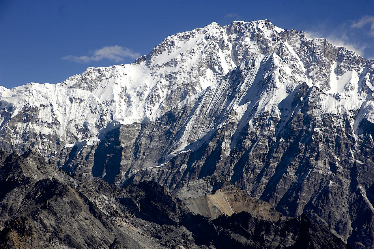Shishapangma south face 8,013m located entirely in Tibet.