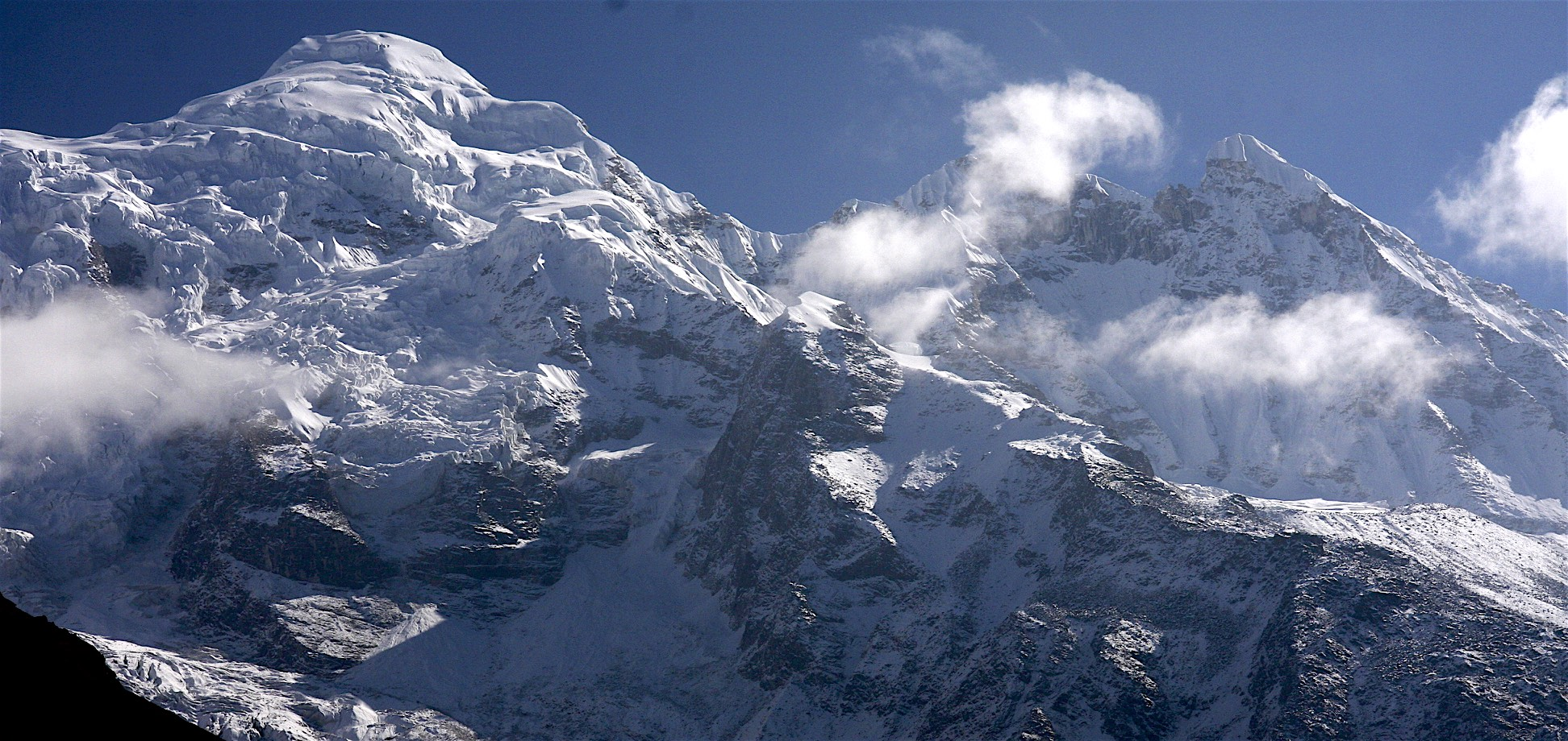 Manaslu from the west