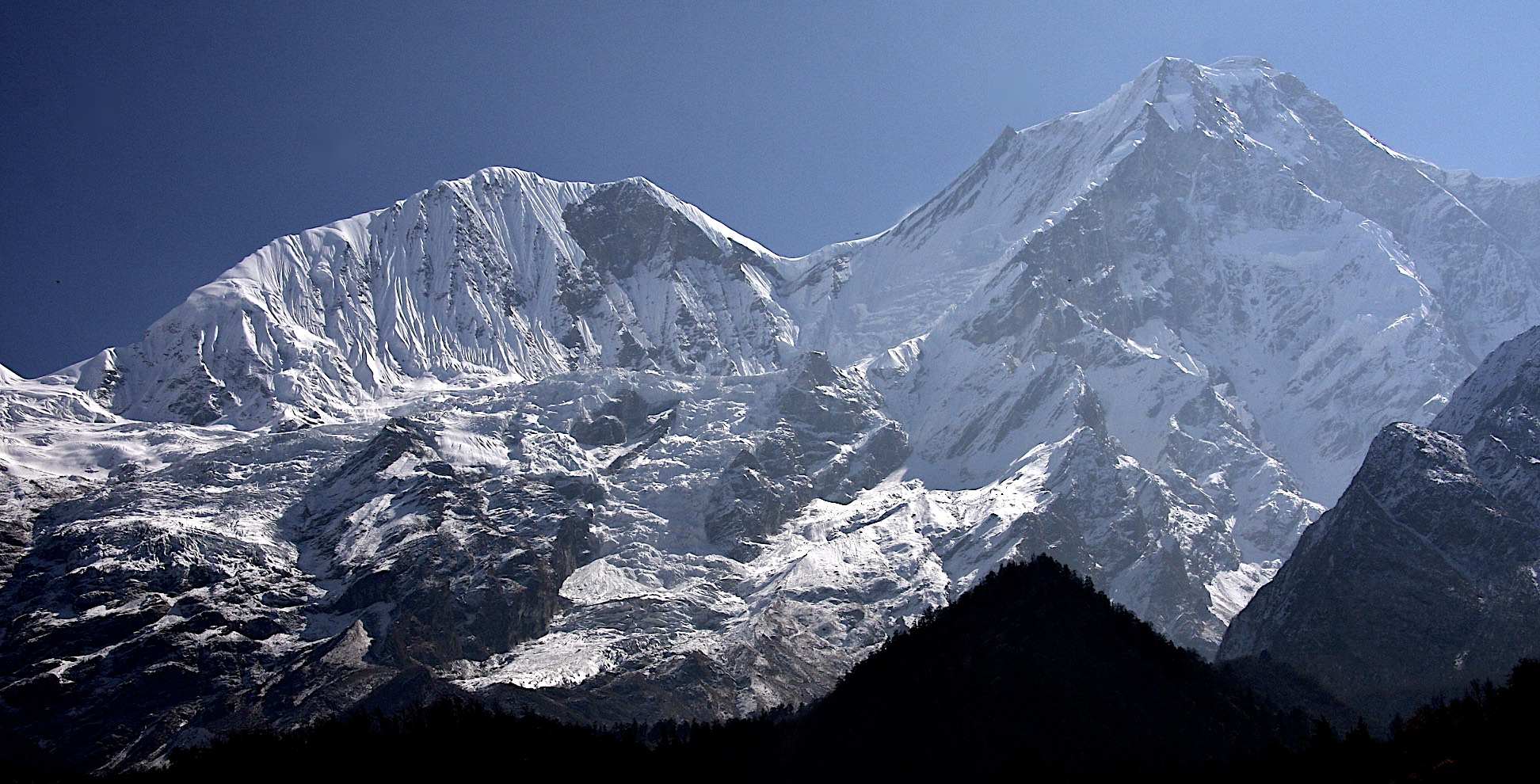 Manaslu's West Face