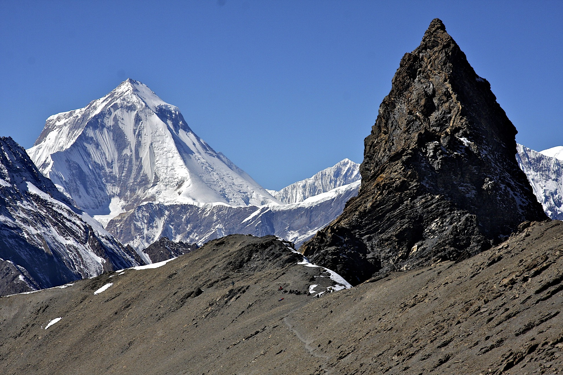 Mesocanto Pass and Dhaulagiri I