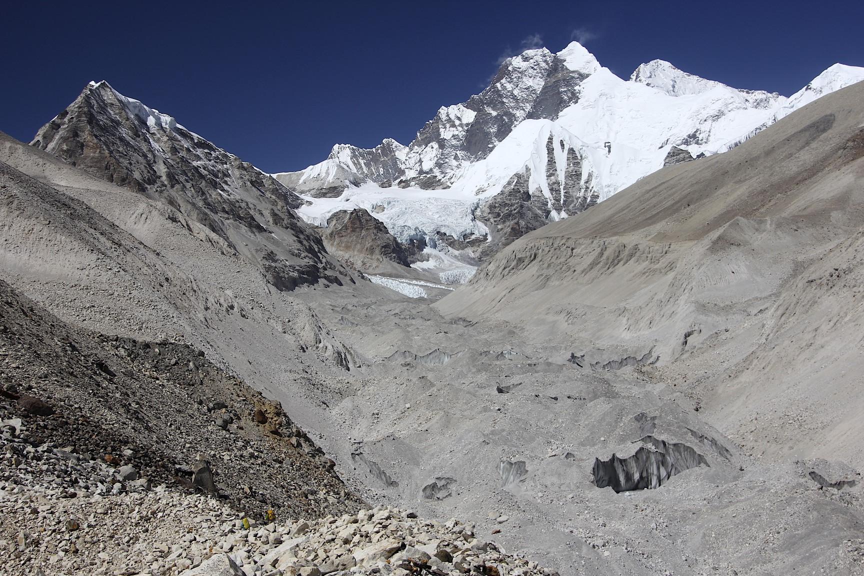 Lhotse, Everest and Barun Glacier