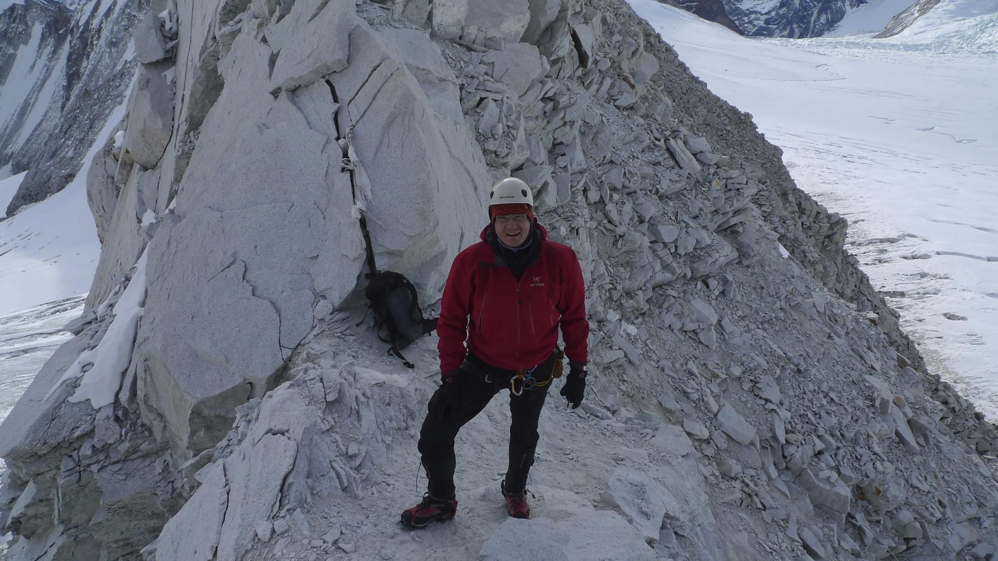 On the Sherpani Col.