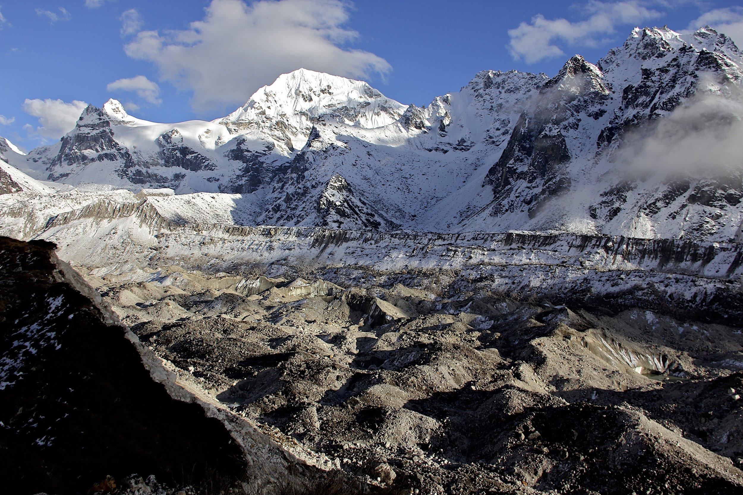 Kokthang 6,148m and Yalung Glacier