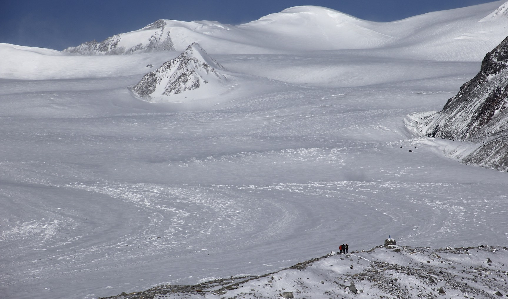 The glaciers of the Mongolian Altai