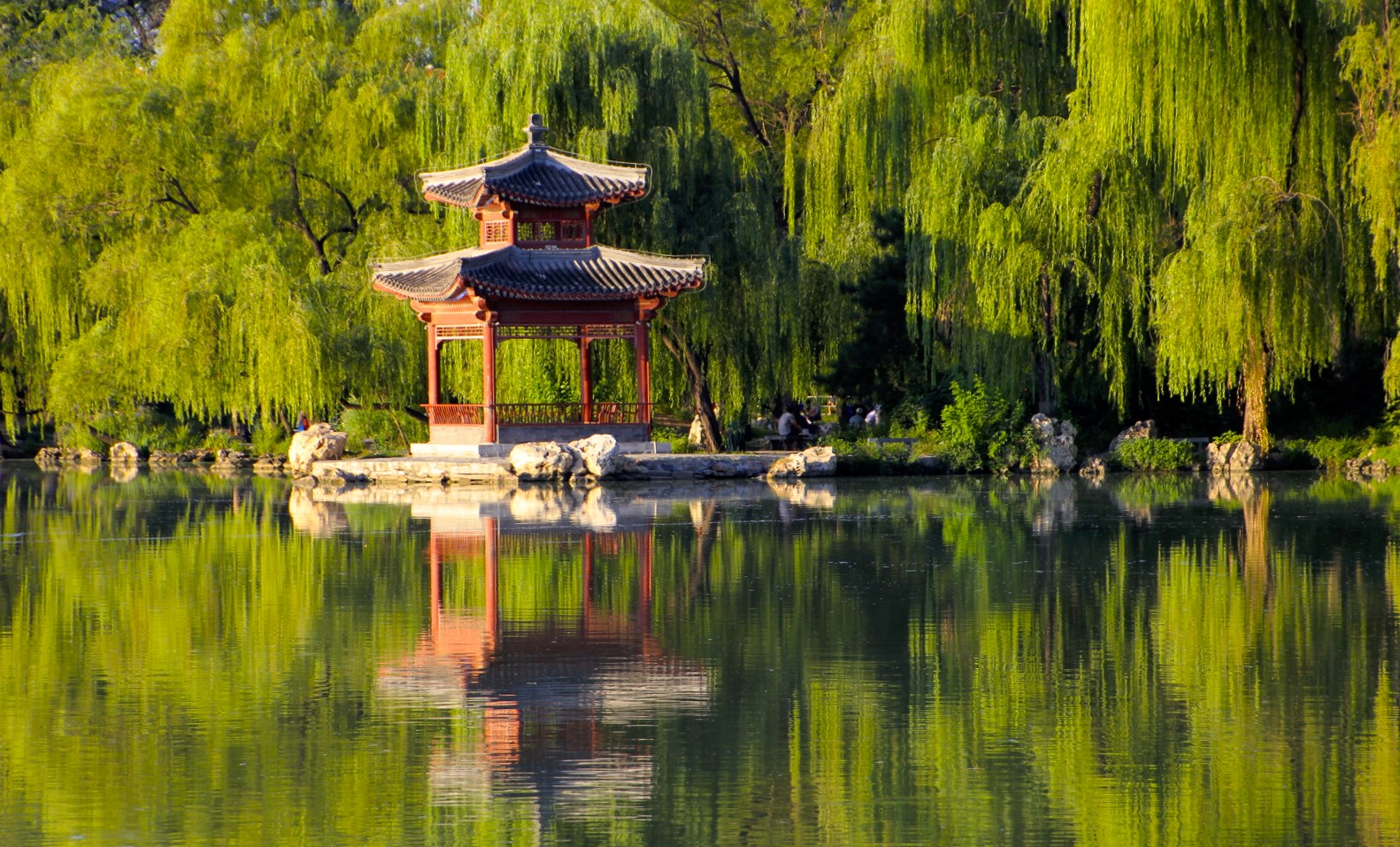 One of many parks in Beijing