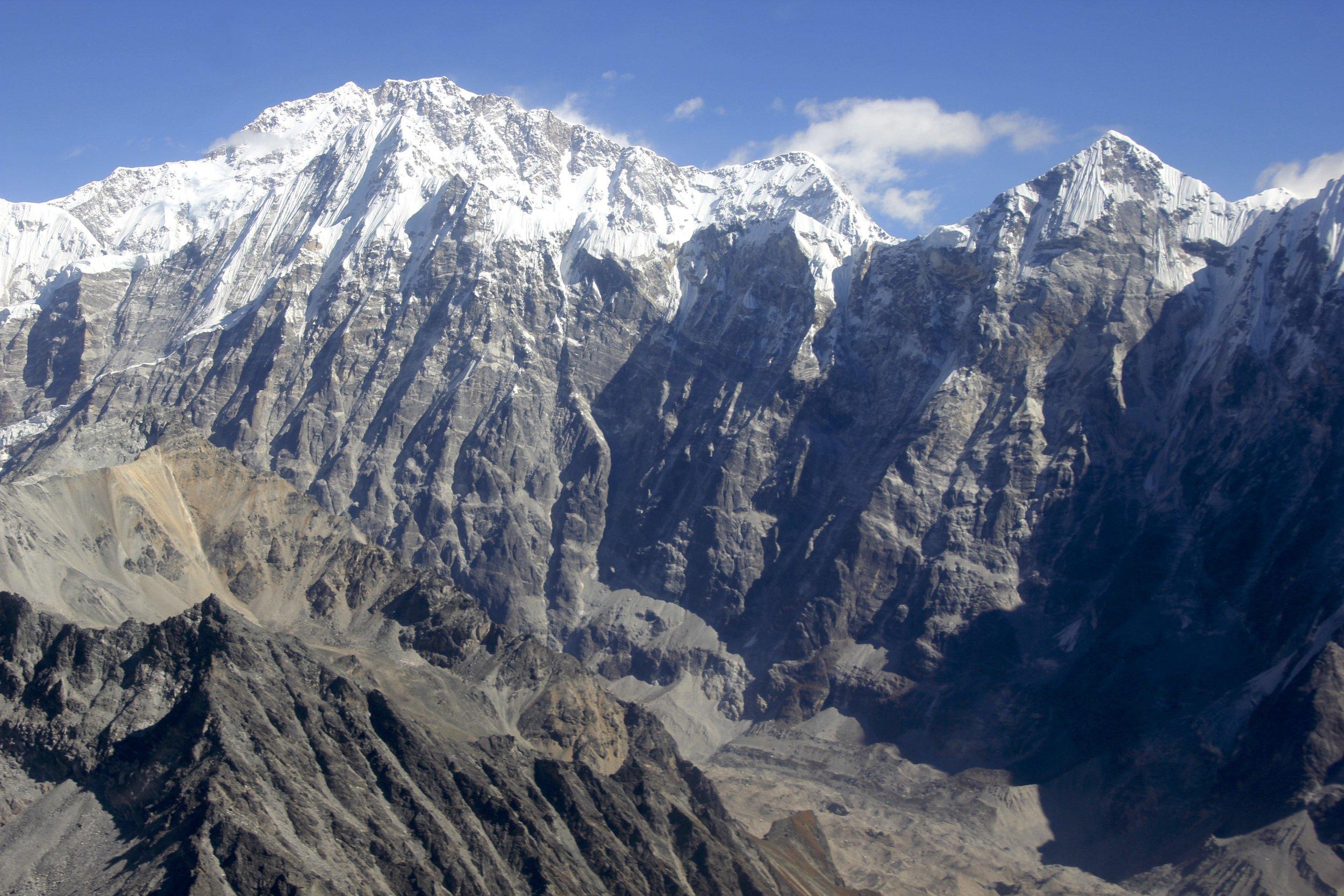Langtang Glacier and Shishapangma in Tibet (photo from 2018 trip - see 2018 year)