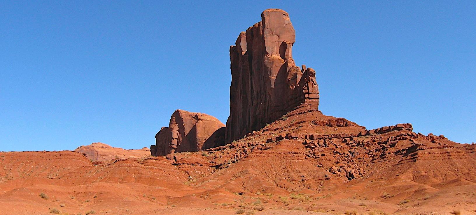 The Monument Valley in the Navajo Tribal Lands