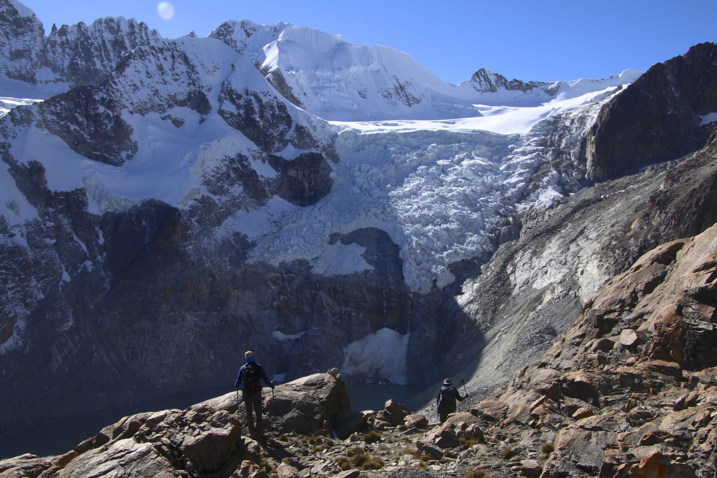 Above Laguna Glaciar