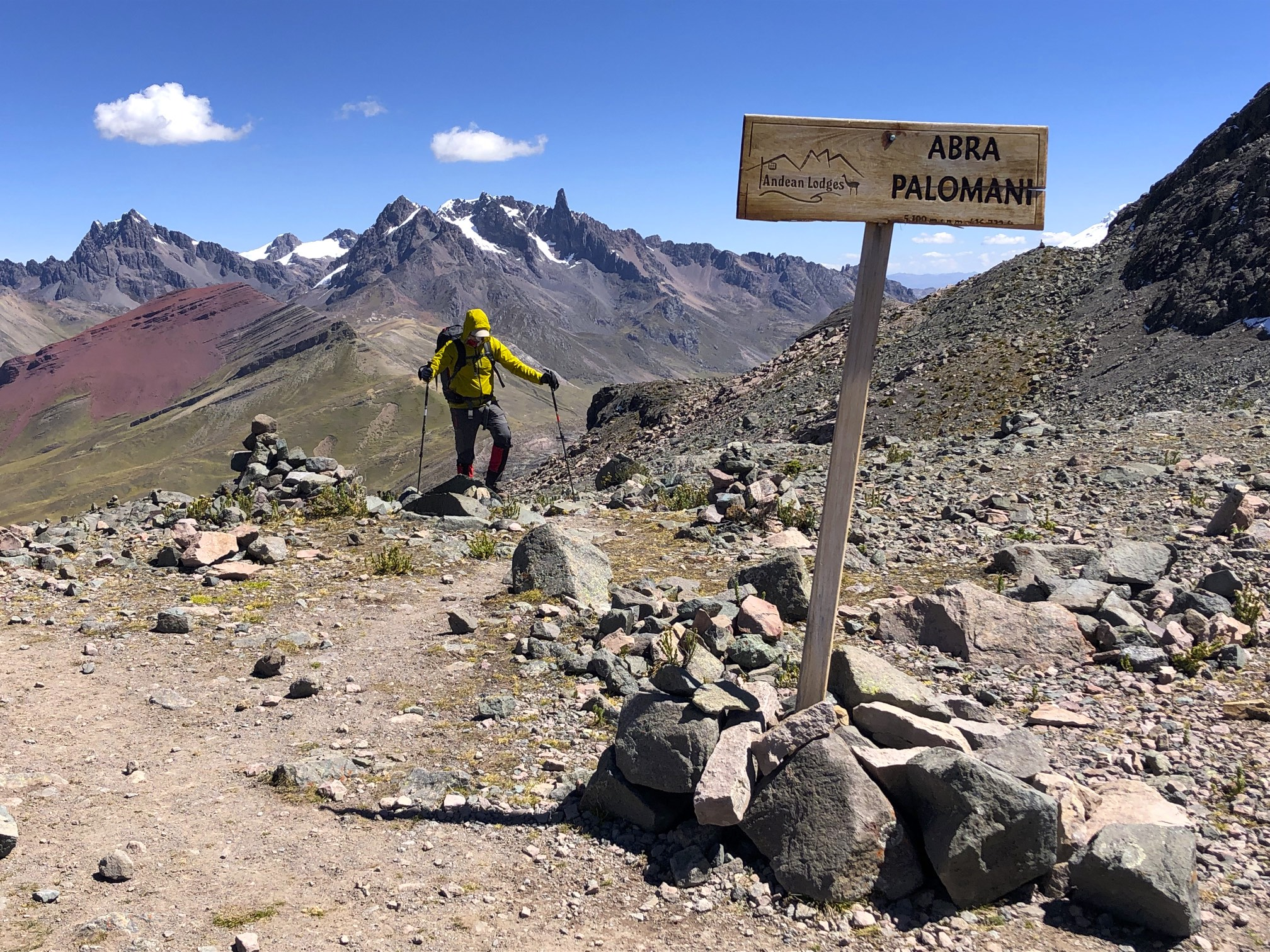 Finally, the Palomani Pass - our first time at 5,000m!