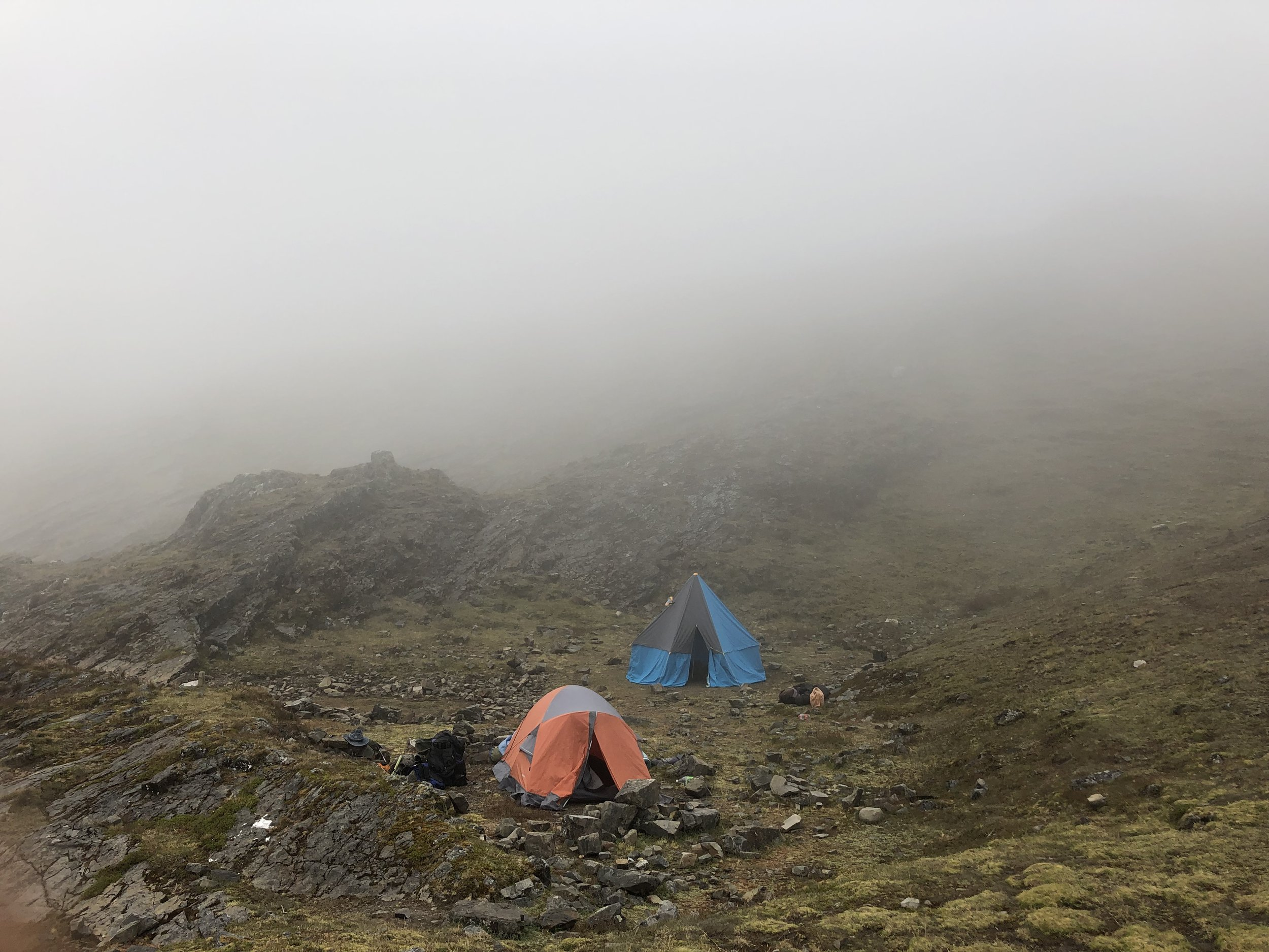 Then the clouds rolled in and we did not see anything until the morning.