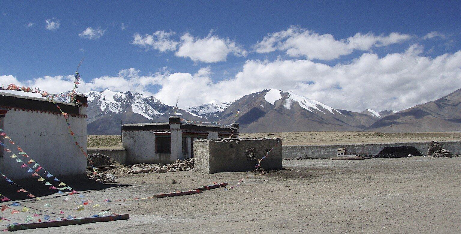The Langtang Range from Tibet