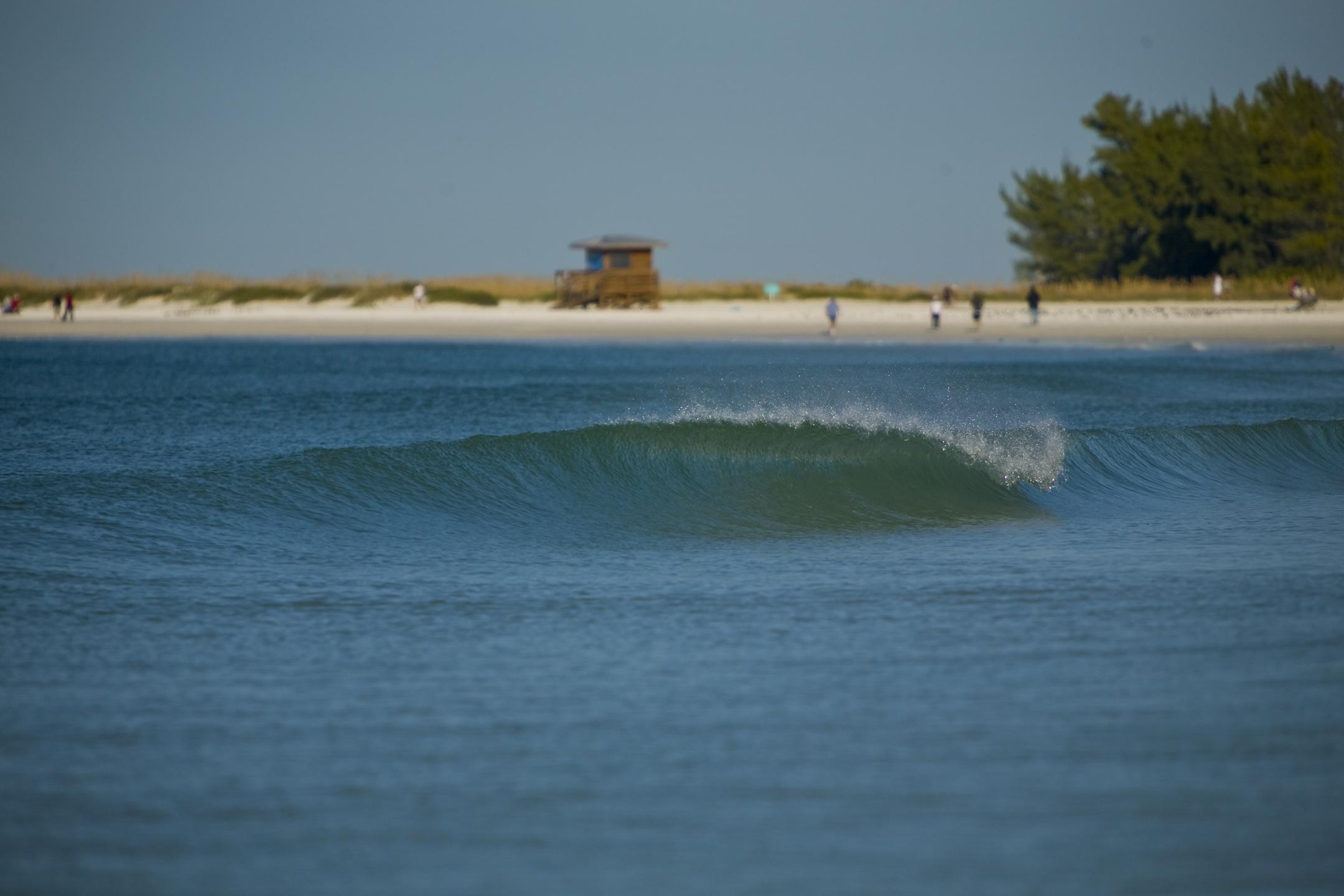 Soft waves.