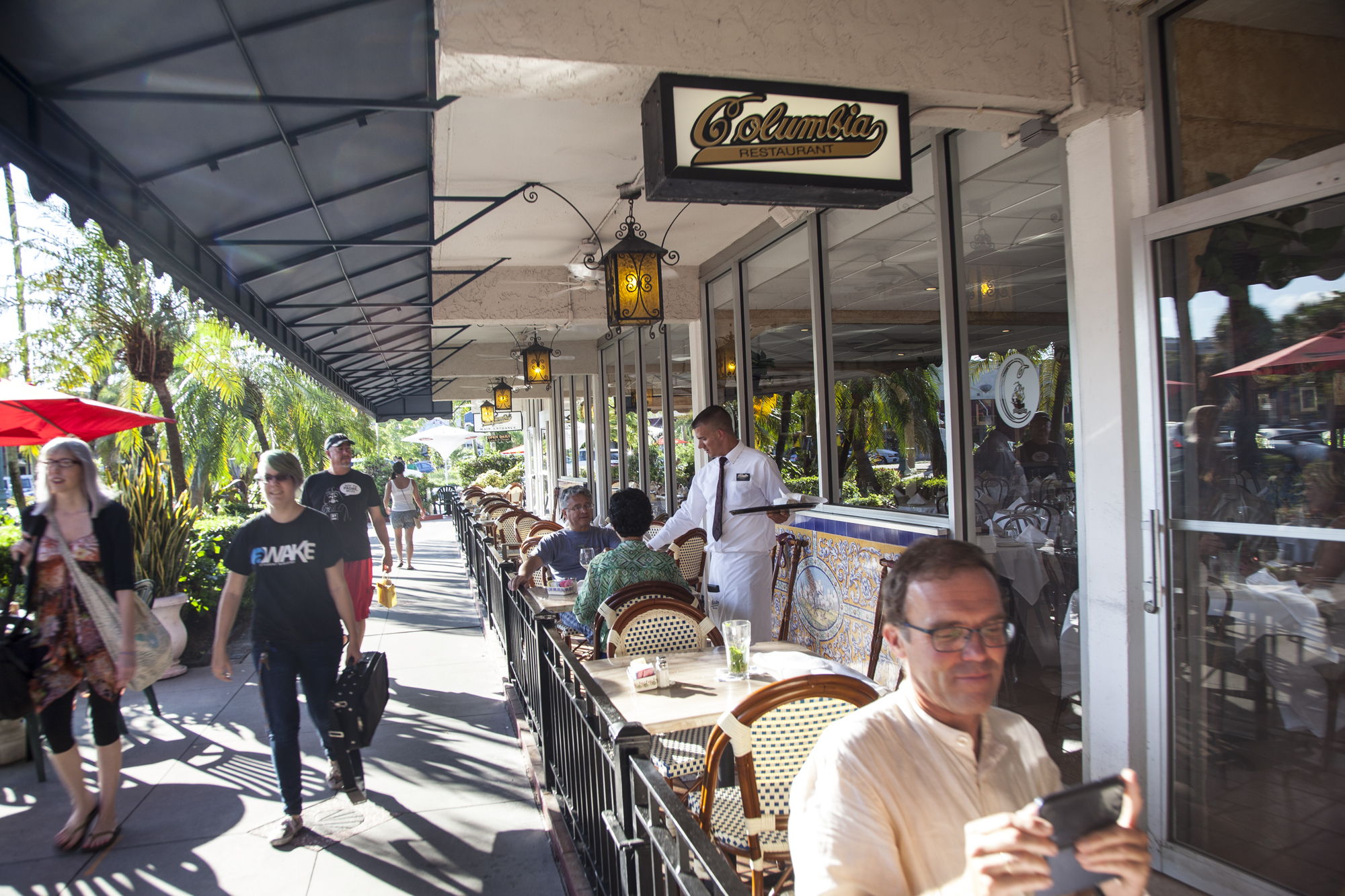Columbia - famous Cuban restaurant.