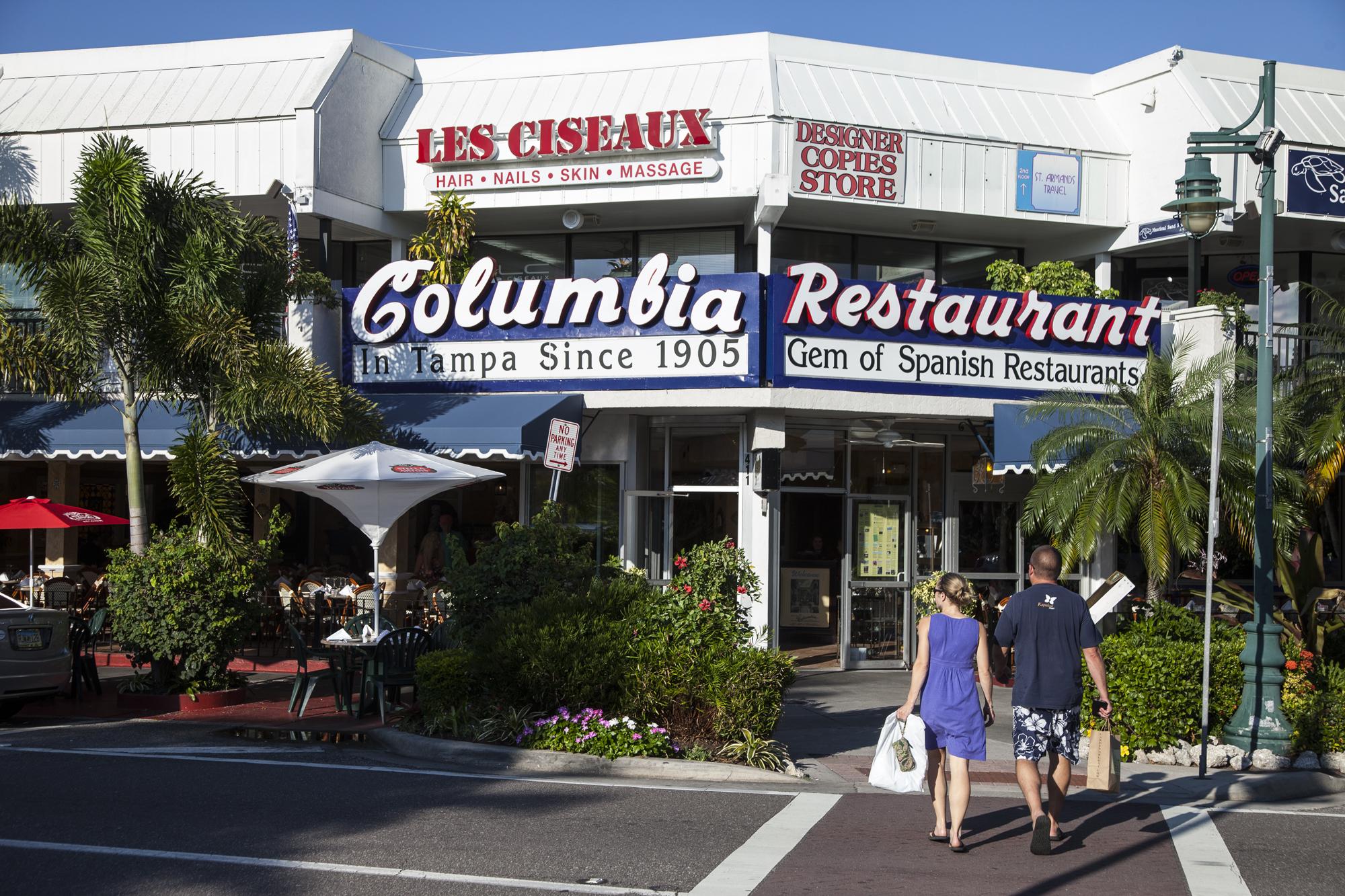 Columbia restaurant.