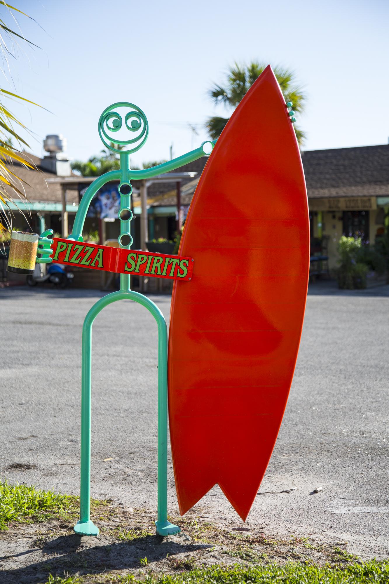 Surf sign.